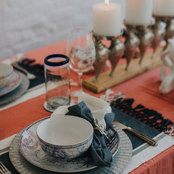 Bee Inspired Events - Nautical Tablescape